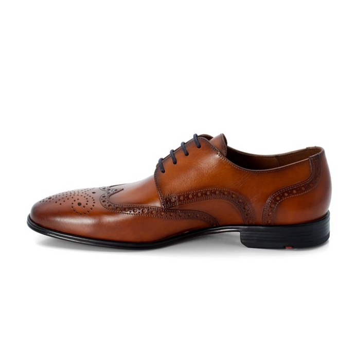 Lloyd chaussure a lacets morton brun8791201_2