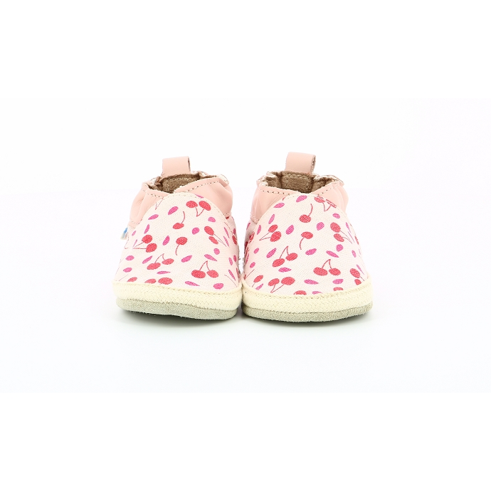 Robeez chausson sunny camp rose